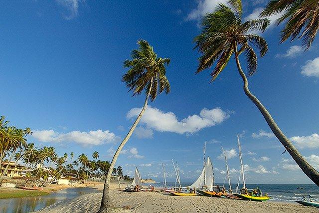 Praia de Caraubas RN