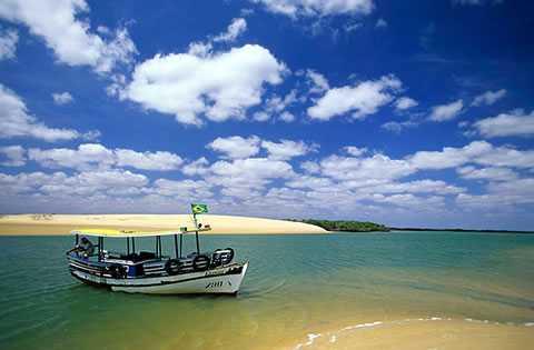 Praia de Galinhos RN