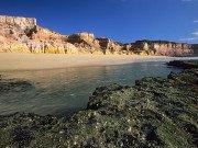 Praia do Cotovelo barreira