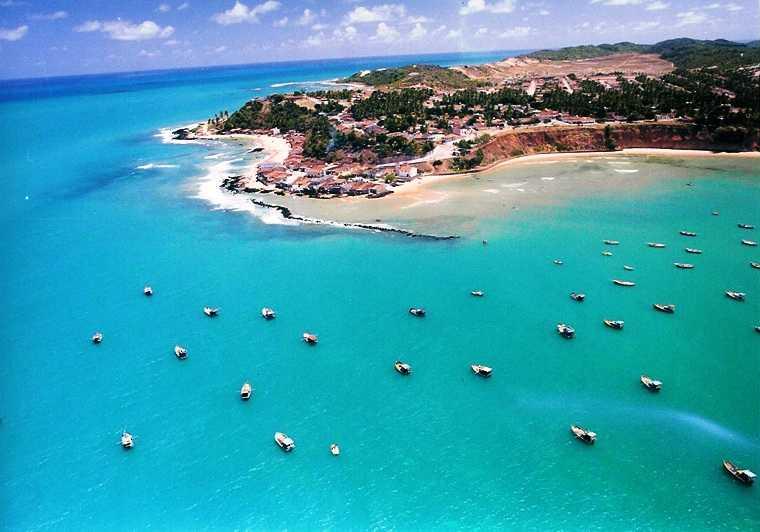 Baía Formosa Rio Grande do Norte fonte: www.praiasdenatal.com.br
