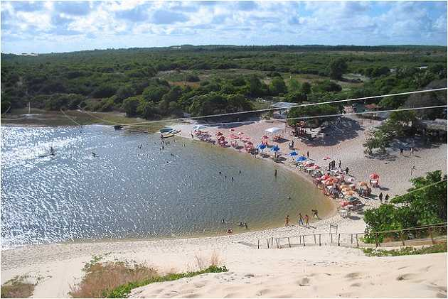 Lagoa de Jacuma banho