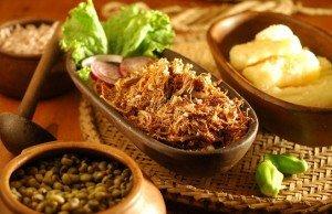 Pacoca de carne de sol