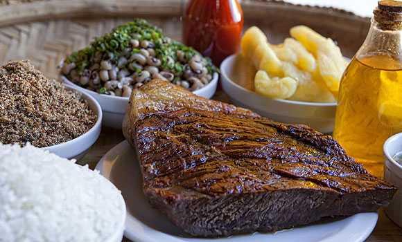 pacoca de carne com a carne de sol