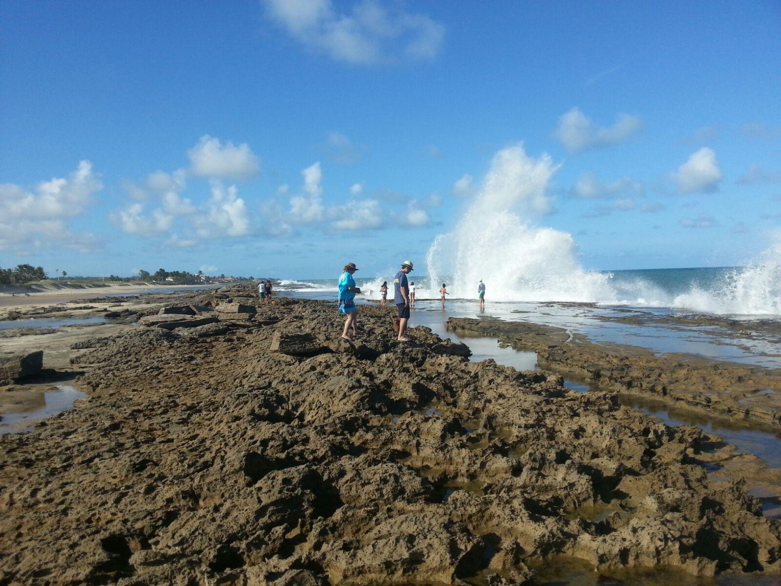 Praia de Camurupim RN paisagem