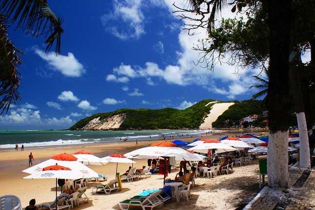 Resultado de imagem para Praia de Ponta Negra natal